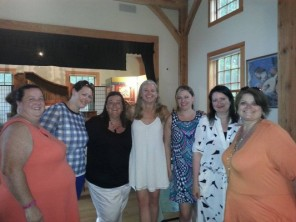 Jackie Spillane's wedding party