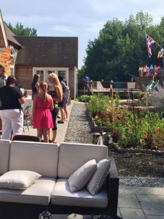 Gardens Wedding Big Chill Reunion