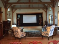 Watch movies on big screen with surround sound